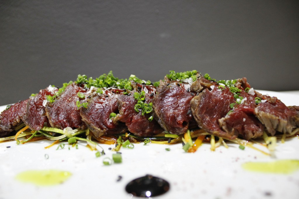 Restaurante Cattabia malaga buey sashimi
